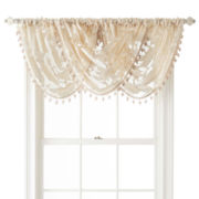 Royal Velvet® Belgravia Rod-Pocket Waterfall Valance