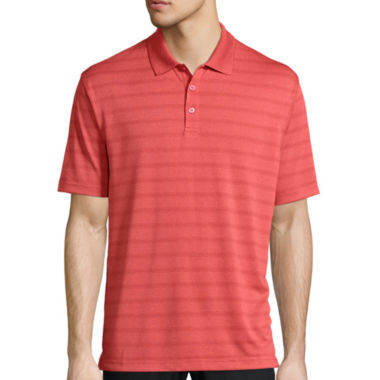 jcpenney.com | Haggar® Short-Sleeve Striped Poly Polo