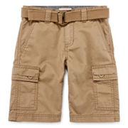 Levi's® West Coast Belted Cargo Shorts - Preschool Boys 4-7x