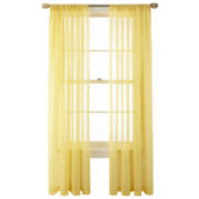 MarthaWindow™ Voile Rod-Pocket Sheer Panel
