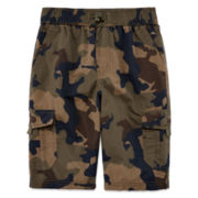 Arizona Trek Pull-On Shorts - Boys 8-20 and Husky