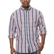 The Foundry Supply Co.™ Long-Sleeve Poplin Woven Shirt - Big & Tall