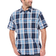 The Foundry Supply Co.™ Short-Sleeve Modern Woven Shirt - Big & Tall