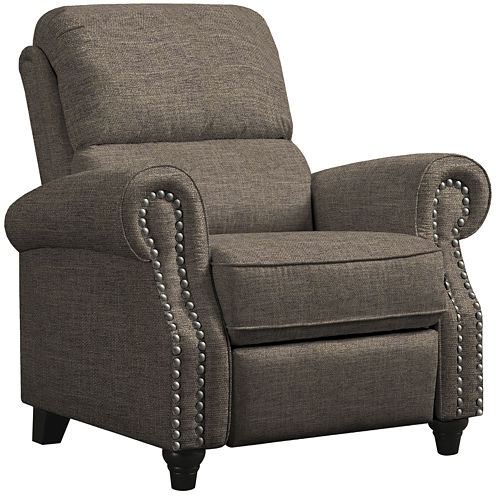 Anna Push Back Recliner. Leather Recliners   Chairs