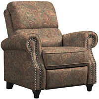 Anna Push Back Recliner (Multiple Colors)