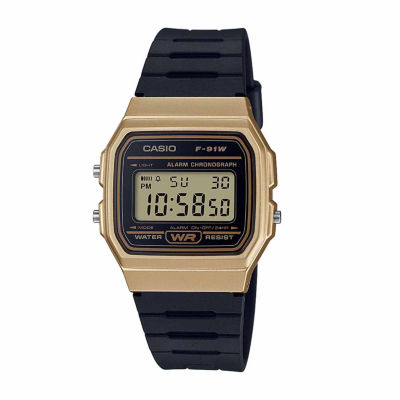 Casio Mens Black Strap Watch F91wm 9a by Casio