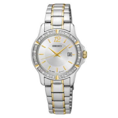 jcpenney.com | Seiko Womens Two Tone Bracelet Watch-Sur718