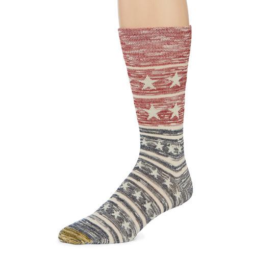 Gold Toe Crew Socks-Mens