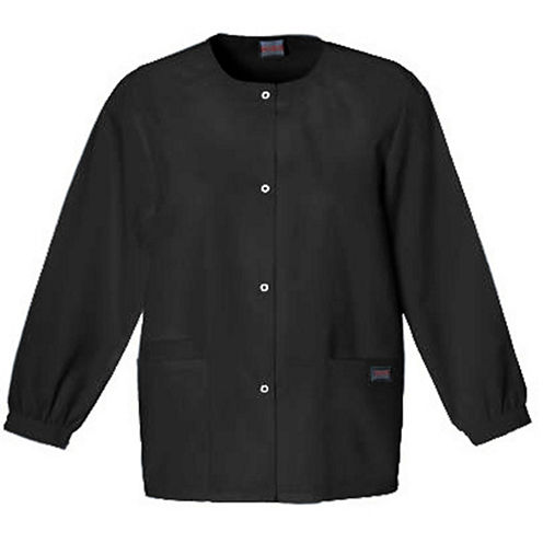 Cherokee Snap Front Warm-Up Jacket