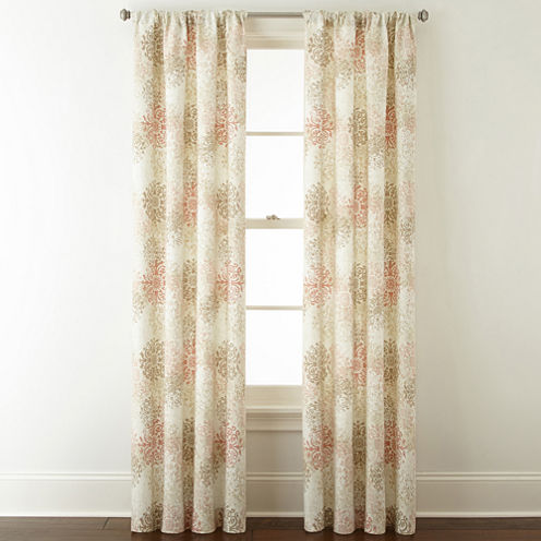 Home Expressions Deacon Rod-Pocket Curtain Panel