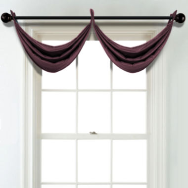 jcpenney.com | JCPenney Home Velvet Grommet Blackout Lined Waterfall Valance