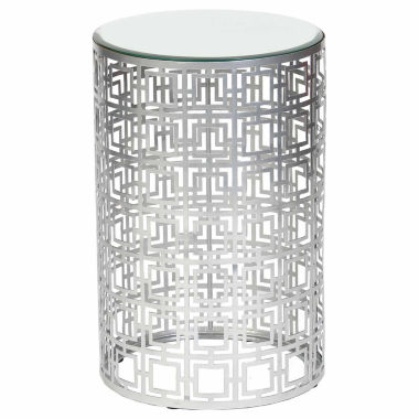 jcpenney.com | Knox And Harrison Pierced Geometric Chairside Table