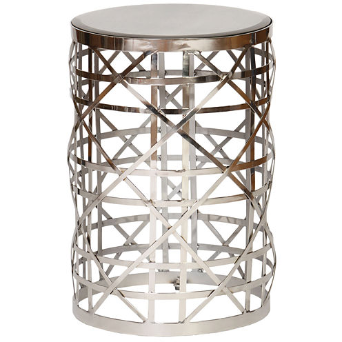 Knox And Harrison Drum Chairside Table