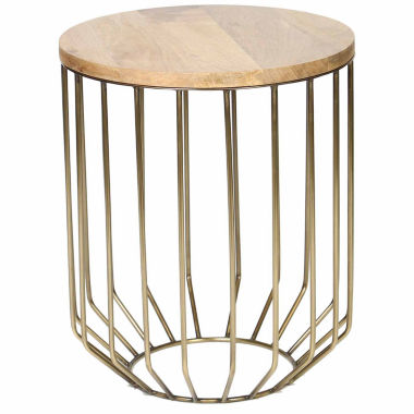 jcpenney.com | Knox And Harrison Wire Frame Chairside Table