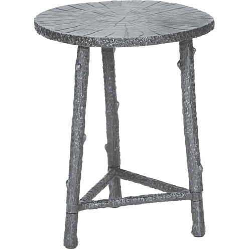 Knox And Harrison Cast Aluminum Chairside Table
