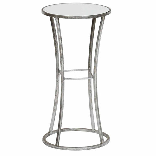 Knox And Harrison Mirror Top Chairside Table