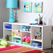Reveal Shelving Unit with 8 Compartments