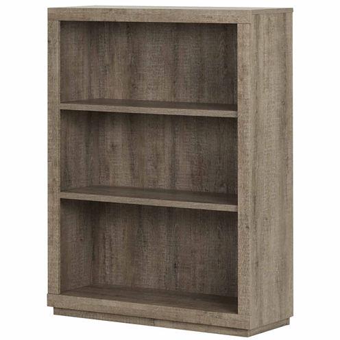 Kanji 3-Shelf Bookcase