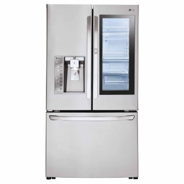 jcpenney.com | LG ENERGY STAR® 24 cu. ft. InstaView™ Door-in-Door® Counter-Depth Refrigerator