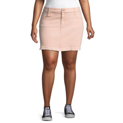Arizona Denim Skirt Juniors Plus by Arizona