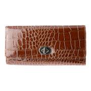 Mundi® File Master Croc Wallet