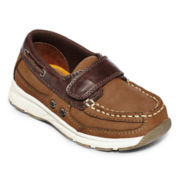 Okie Dokie® Brad  Boys Boat Shoes - Toddler