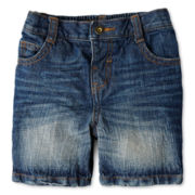 Joe Fresh™ Fashion Jean Shorts - Boys 3m-24m