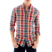The Original Arizona Jean Co.® Long-Sleeve Woven Shirt