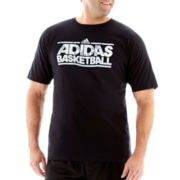 adidas® Basketball Survival Tee-Big & Tall
