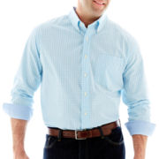 IZOD Long-Sleeve Button-Front Shirt-Big & Tall
