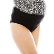Maternity Black Swim Bottoms