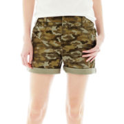 Joe Fresh™ Camo Print Jean Shorts