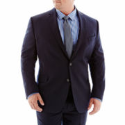 Stafford® Executive Navy Super 100 Wool Suit Jacket–Big & Tall