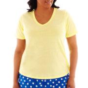 Insomniax® Short-Sleeve Sleep Tee - Plus