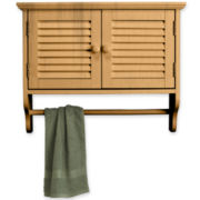 Louvered Wall Cabinet