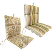 French-Edge Chair Reversible Cushion