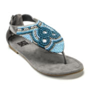 MUK LUKS® Audrey Beaded Thong Sandals