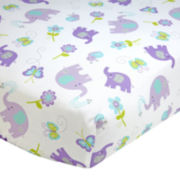 NoJo® Dreamland Fitted Crib Sheet