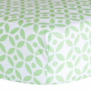 Trend Lab® Lauren Lattice Fitted Crib Sheet
