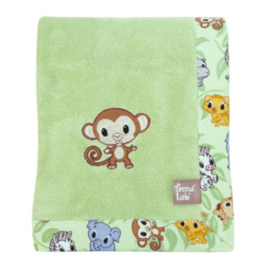 jcpenney.com | Trend Lab® Chibi Zoo Receiving Blanket