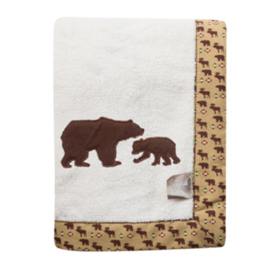 jcpenney.com | Trend Lab® Bear Receiving Blanket