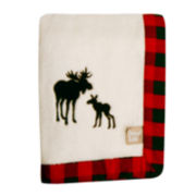 Trend Lab® Moose Receiving Blanket