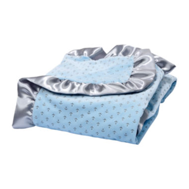 jcpenney.com | Trend Lab® Blue Anchor Velour Blanket