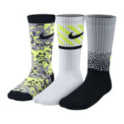 Nike® 3-pk. Performance Crew Socks – Boys