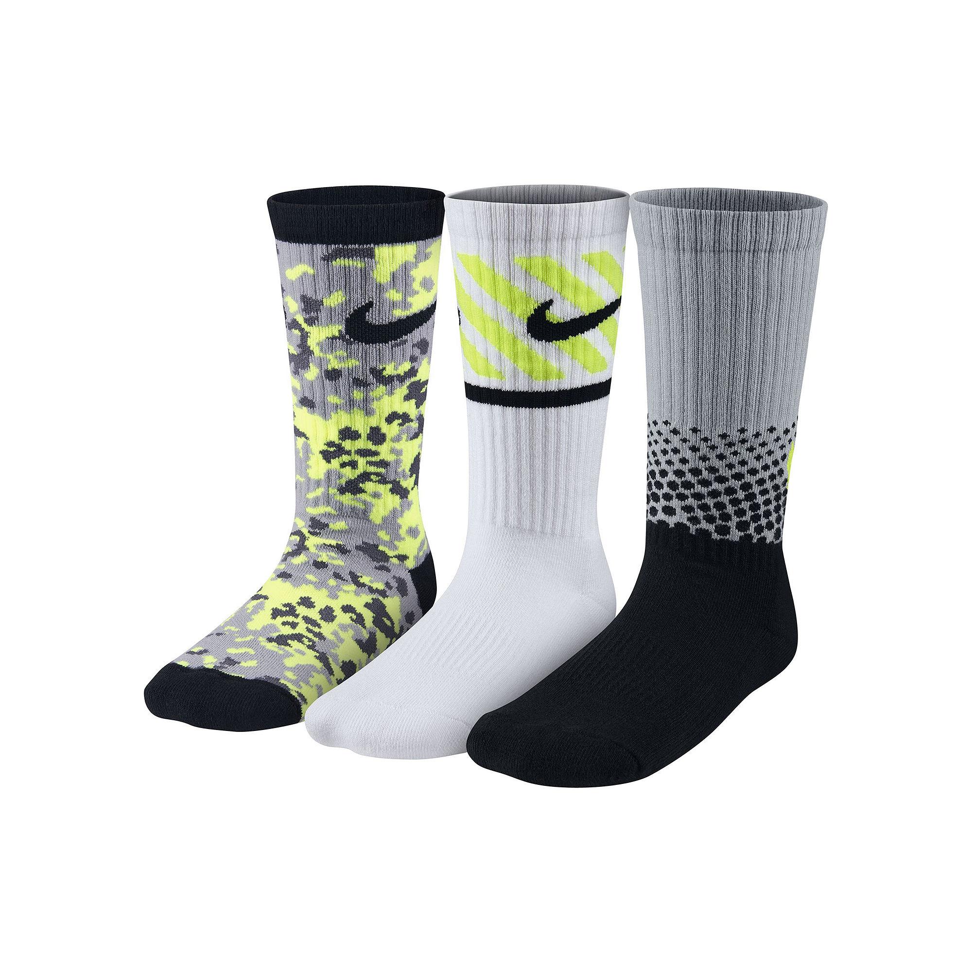 22471fa7d UPC 888409185500 product image for Nike 3-pk. Graphic Crew Socks - Boys ...
