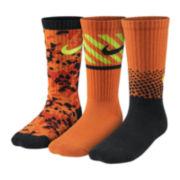 Nike® 3-pk. Performance Crew Socks – Boys