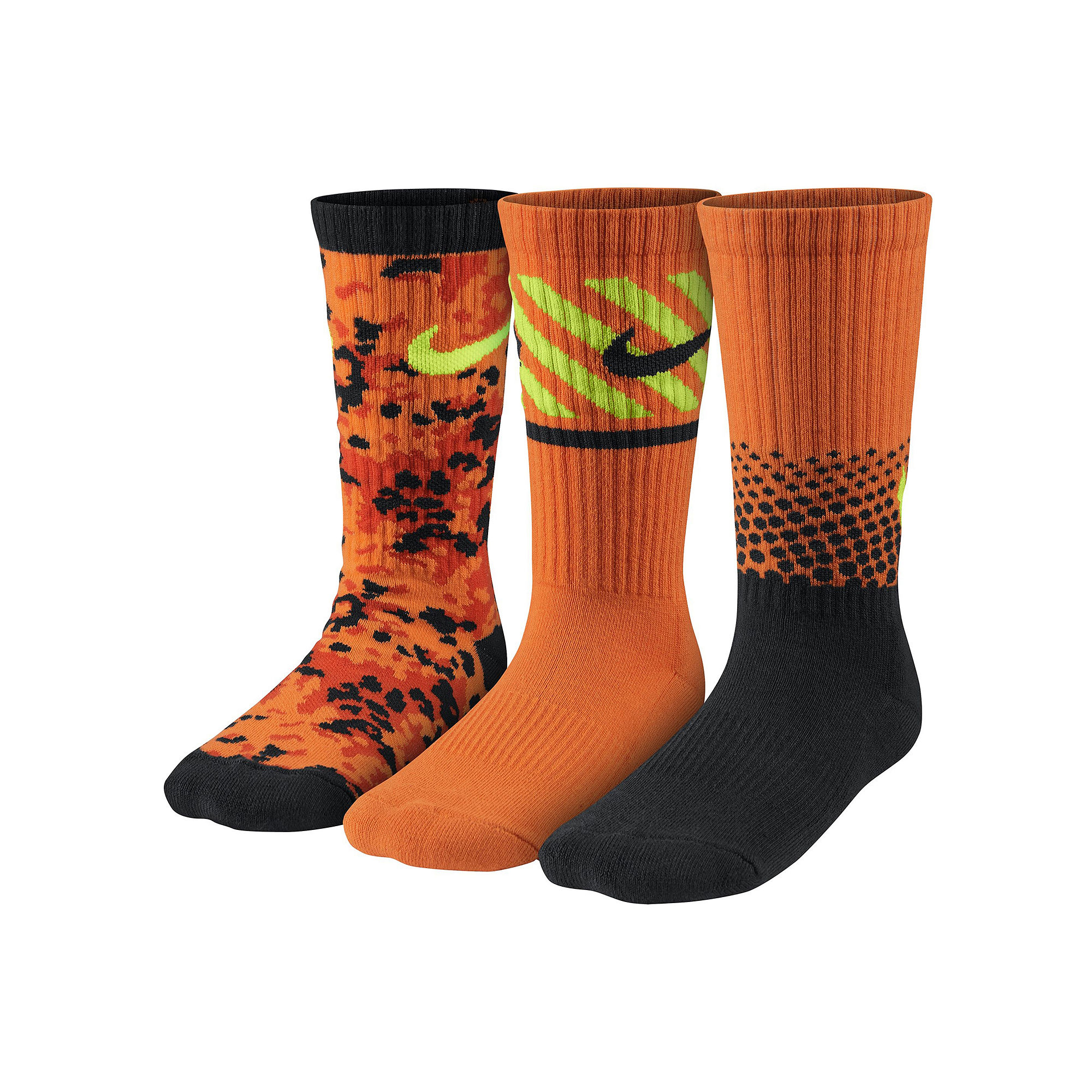 514caa4a0 UPC 888409185371 product image for Nike 3-pk. Graphic Crew Socks - Boys ...