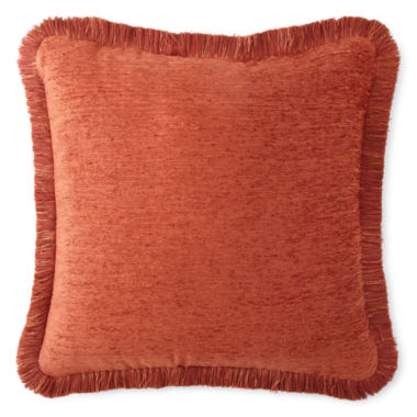 jcpenney.com | JCPenney Home™ Chenille Fringe Decorative Pillow