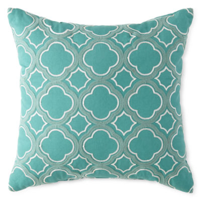 Lovely JCPenney Home™ Clover Trellis Decorative Pillow