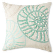 JCPenney Home™ Shells Beaded Decorative Pillow